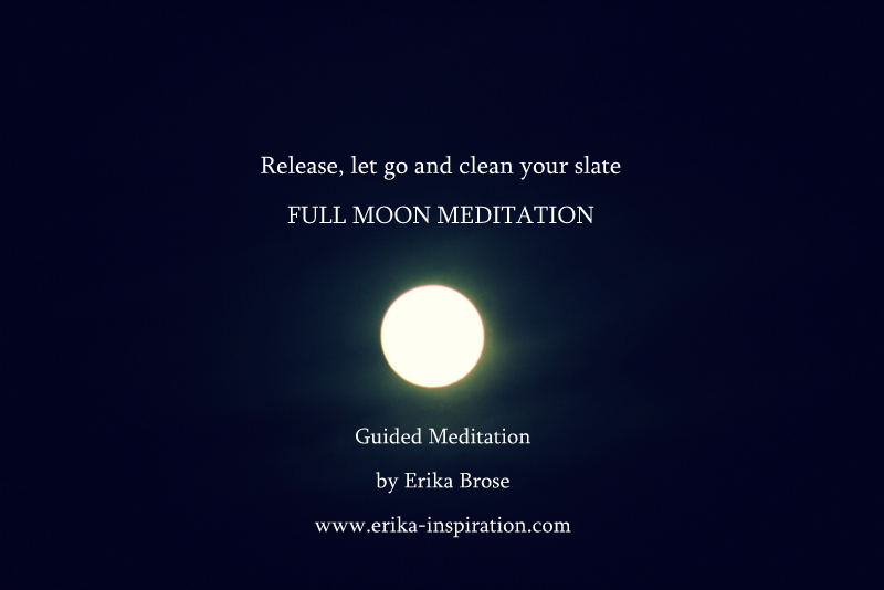 Full Moon Ritual & instant download Guided meditation ...